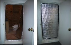 attic door insulator attic door insulation save money on my electric bills & Attic Tent Service in Dallas Plano Texas