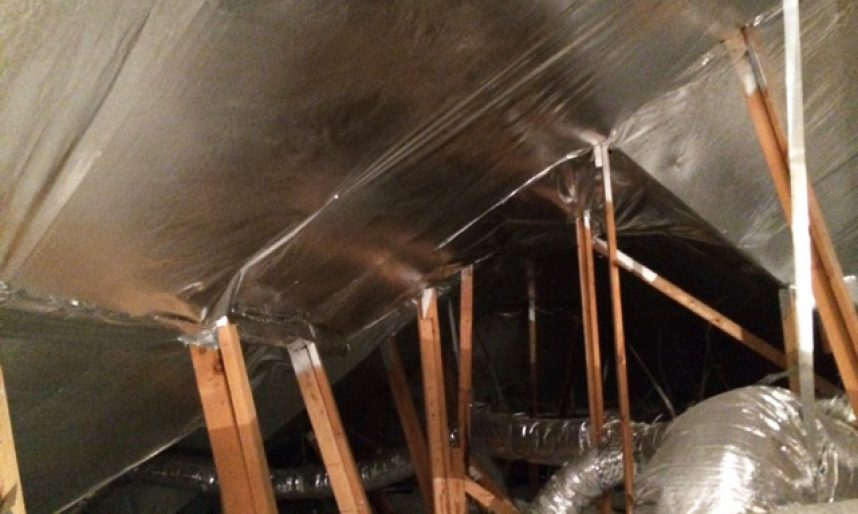 Why We Install Radiant Barrier In The Winter