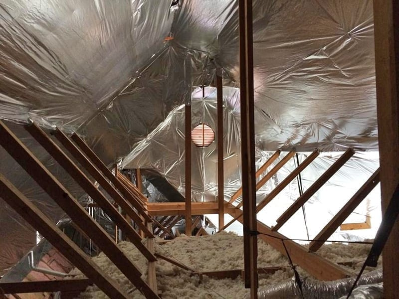In House Financing Dallas Tx >> Energy Attic Photo Gallery of Insulation Work