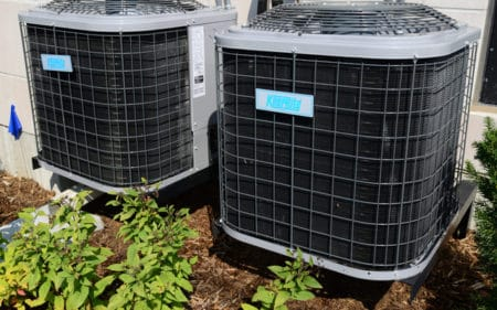 HVAC maintenance - Air conditioning units outside of home